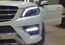 Настройка яркости ходовых огней Mercedes